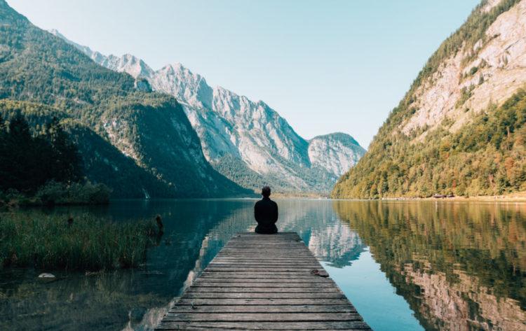 meditation makes you like a rock